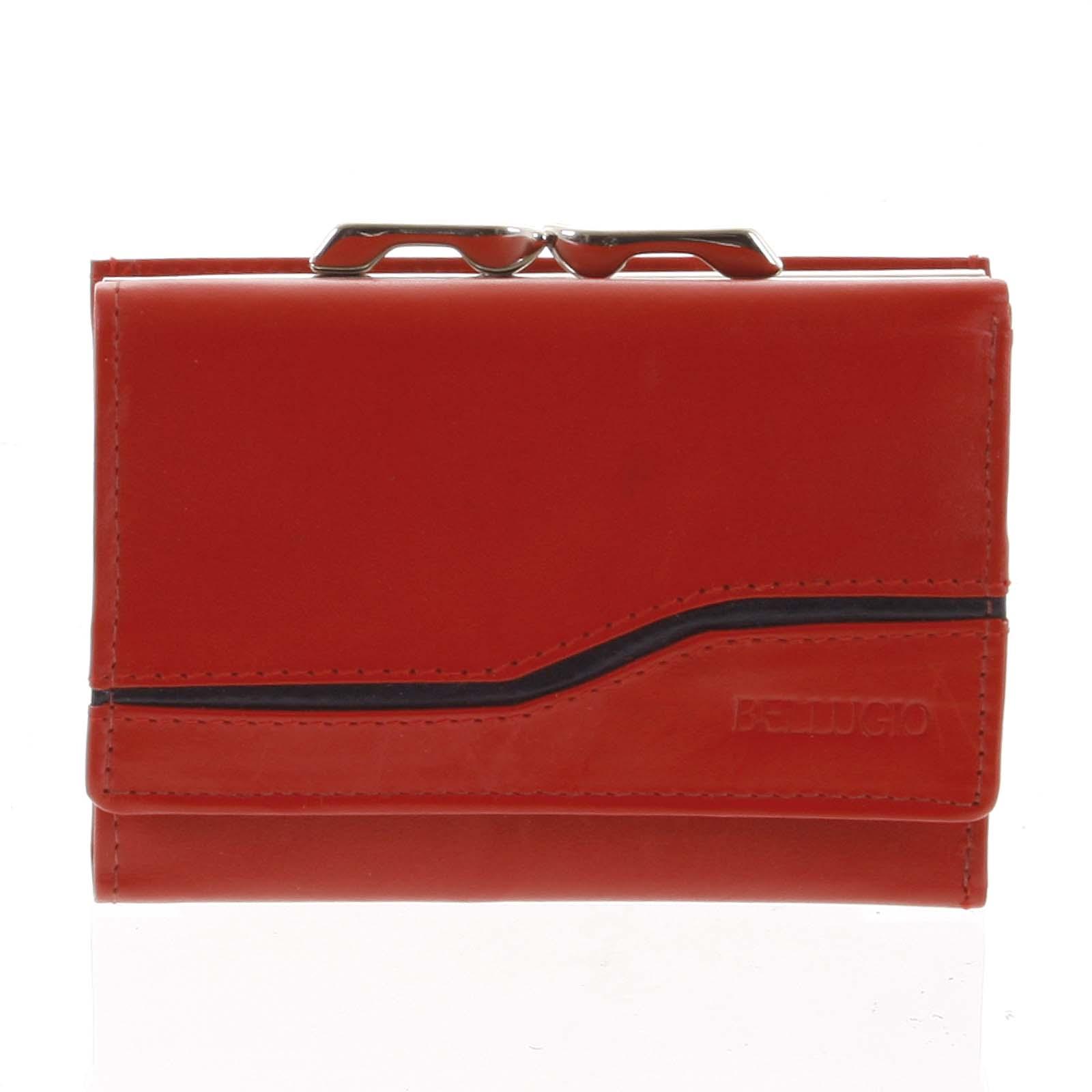 Dámská kožená peněženka červená - Bellugio Tarea
