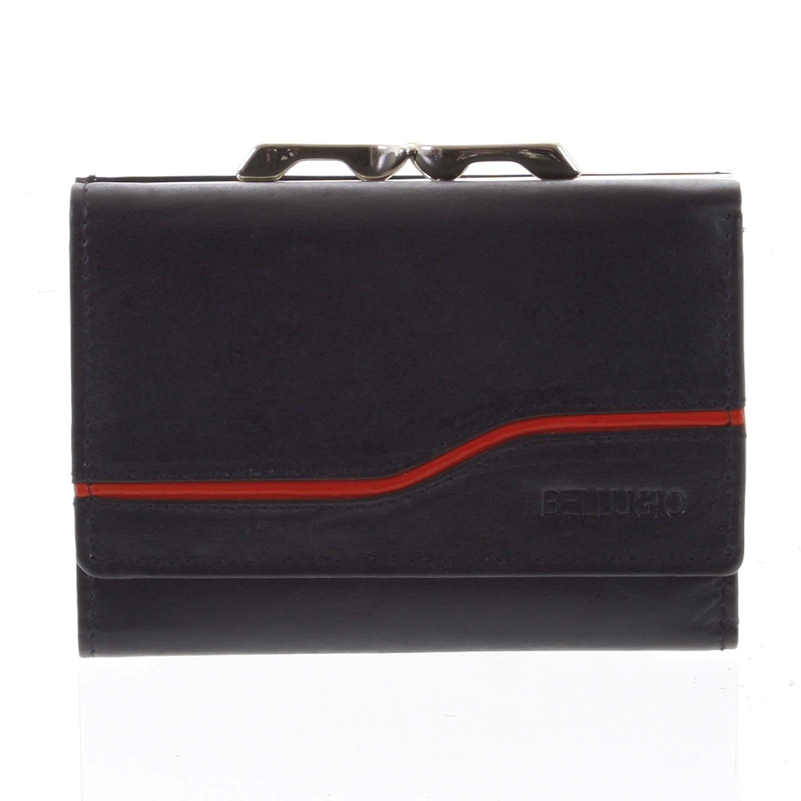 Dámská kožená peněženka černá - Bellugio Tarea