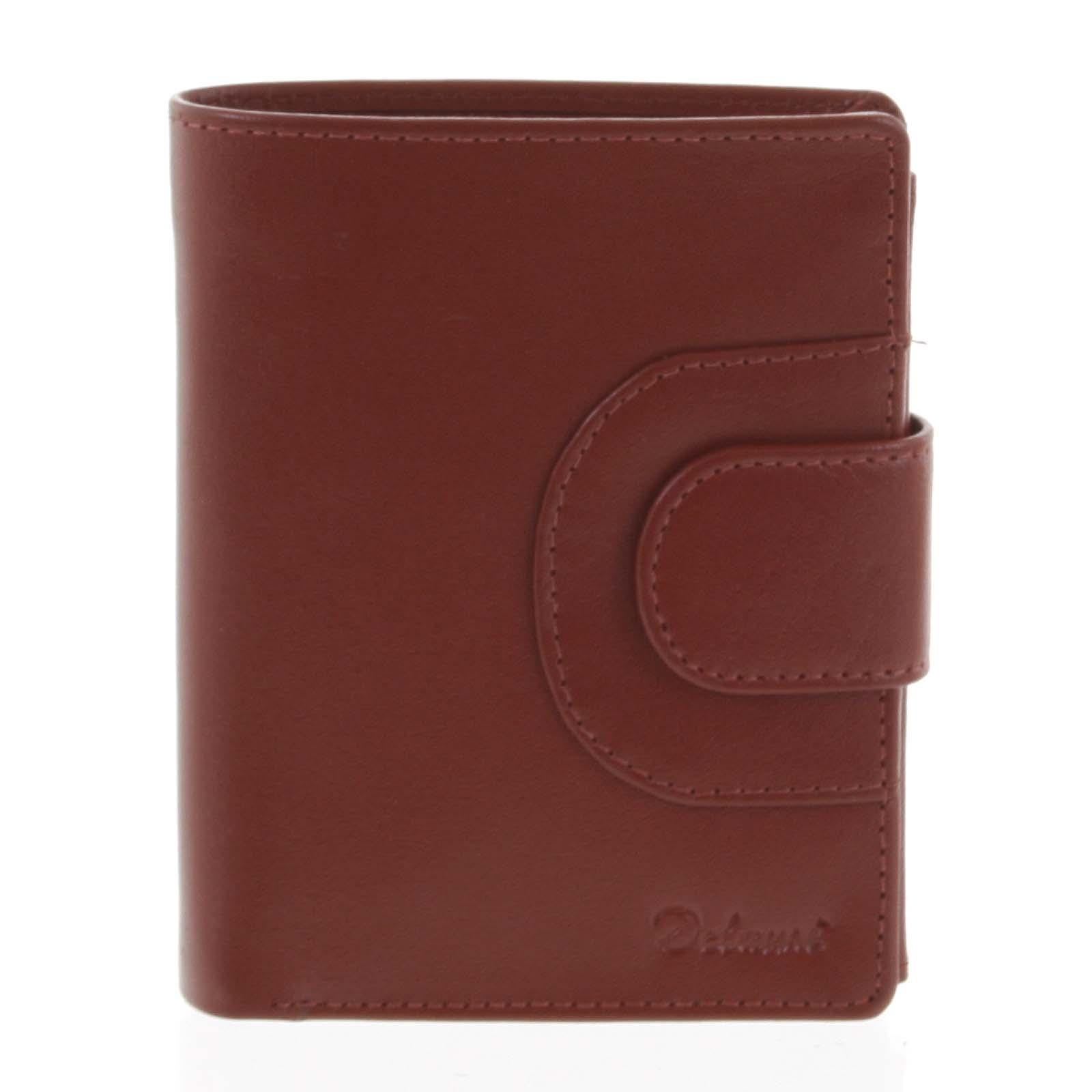 Pánská kožená peněženka červená - Delami Armando