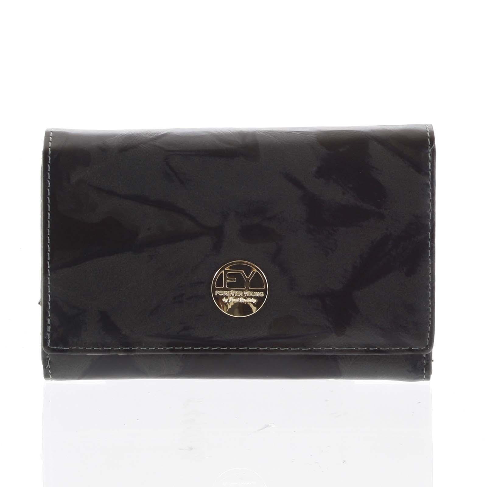 Dámská peněženka kožená olivová - Rovicky 76112