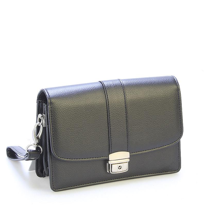 Elegantní a prostorné pánské černé etue - Sendi Design 2601