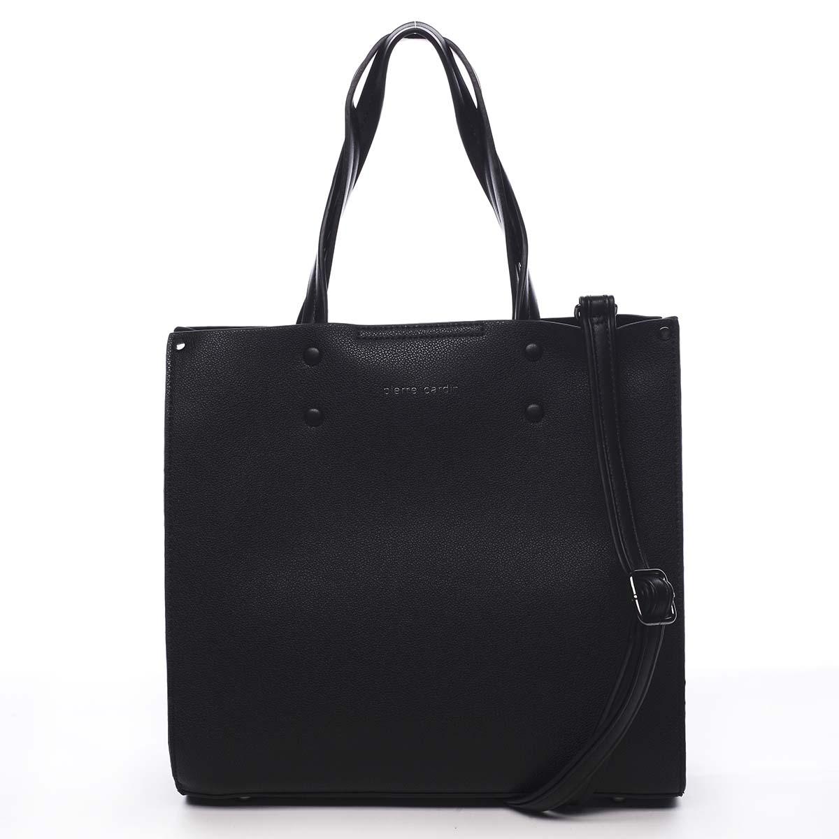 Dámská kabelka černá - Pierre Cardin Dished