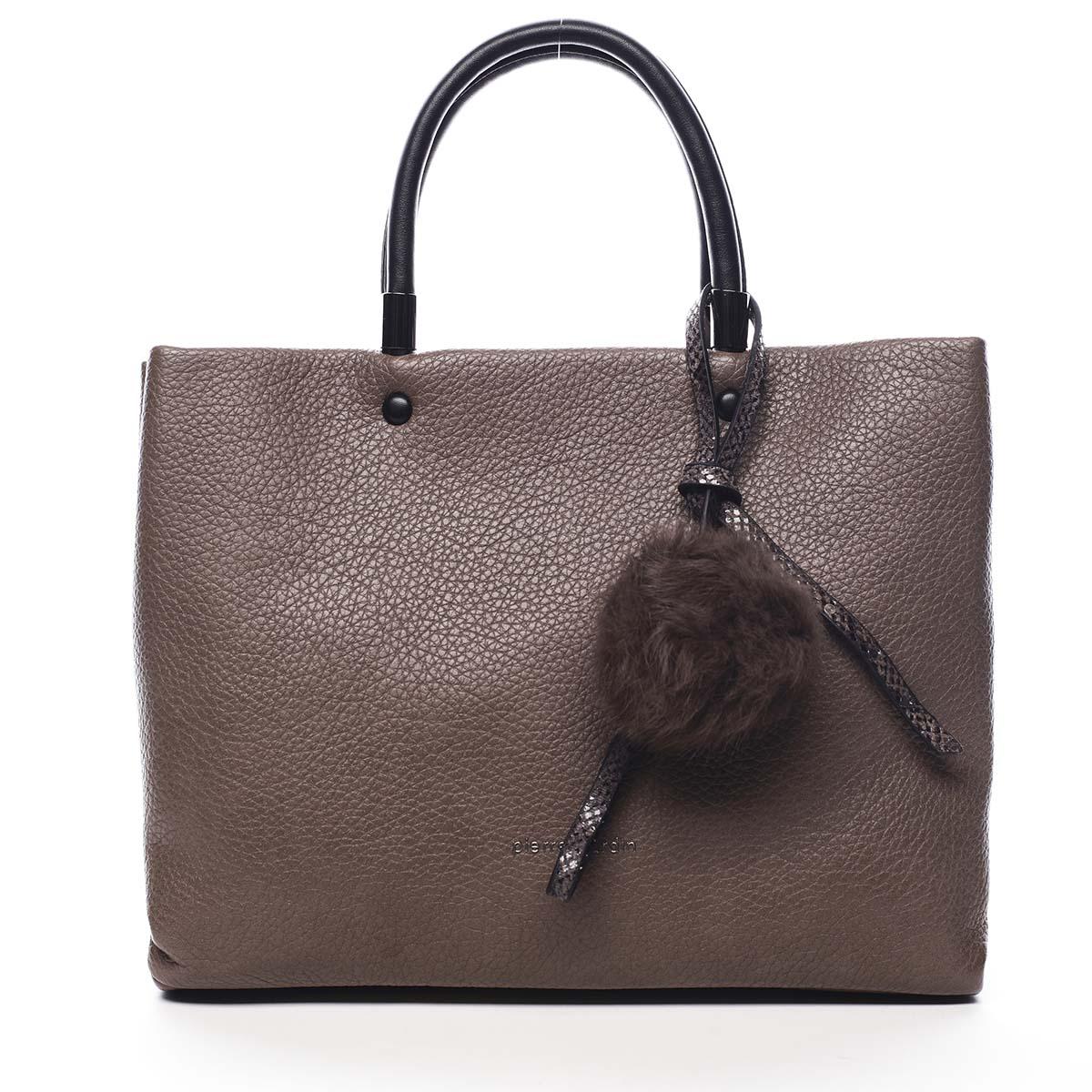 Dámská kabelka do ruky hnědá - Pierre Cardin Krimea