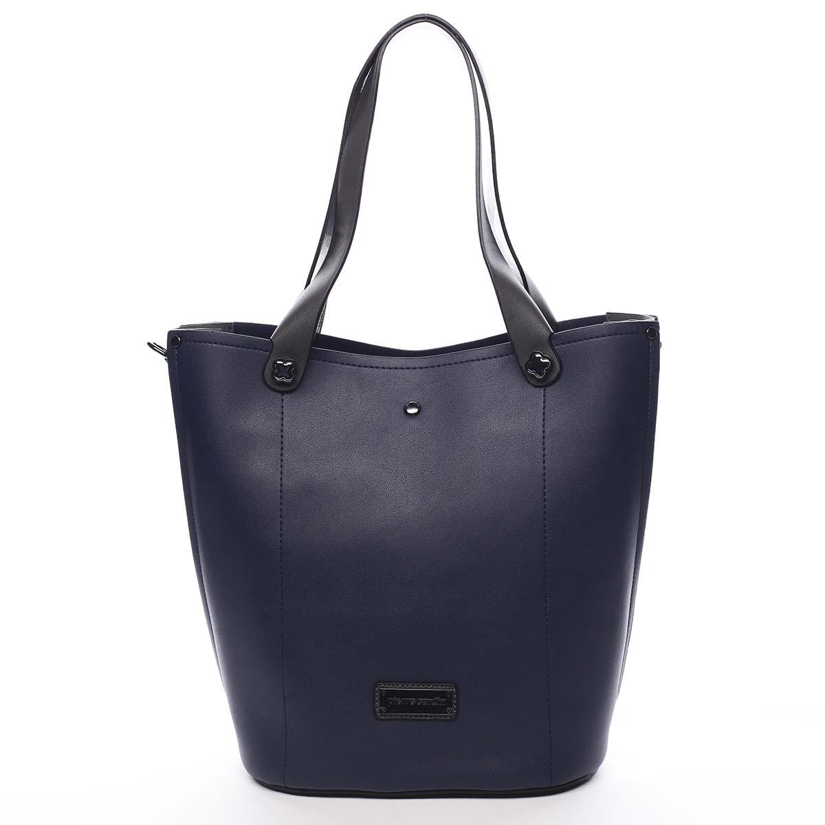 Dámská kabelka tmavě modrá - Pierre Cardin Avrill