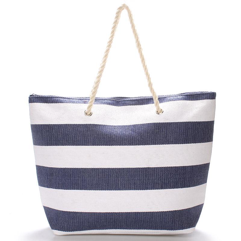 Plážová taška modrá - Delami Wide