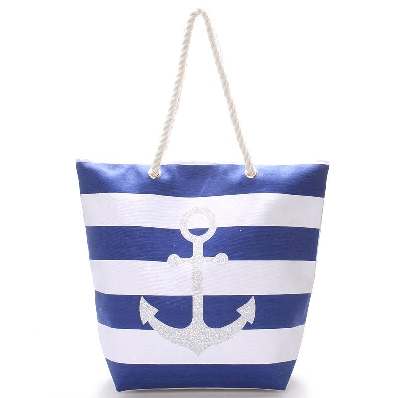 Modrá plážová taška - Delami Anchor