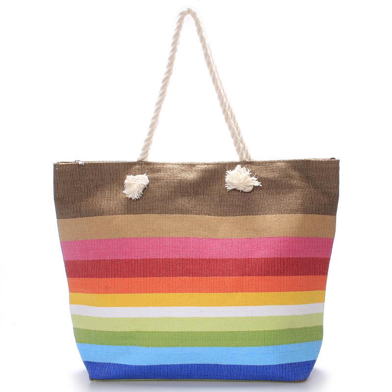 Barevná plážová taška - Delami Color