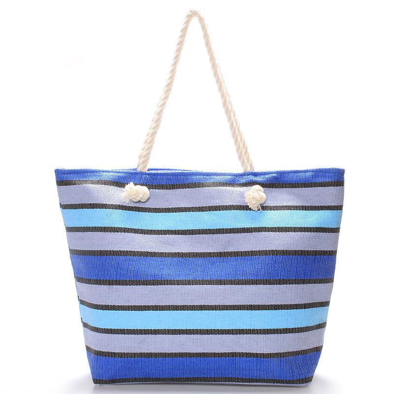 Modrá plážová taška - Delami Color