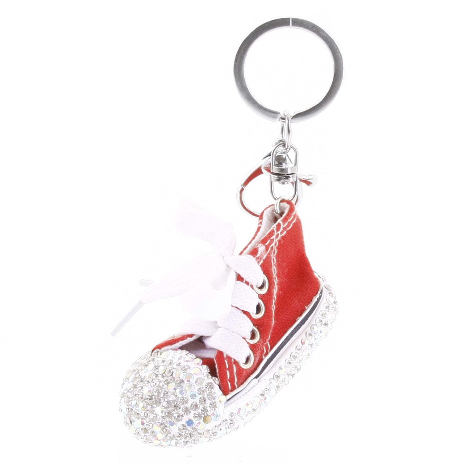 Přívěsek na kabelku červený - teniska
