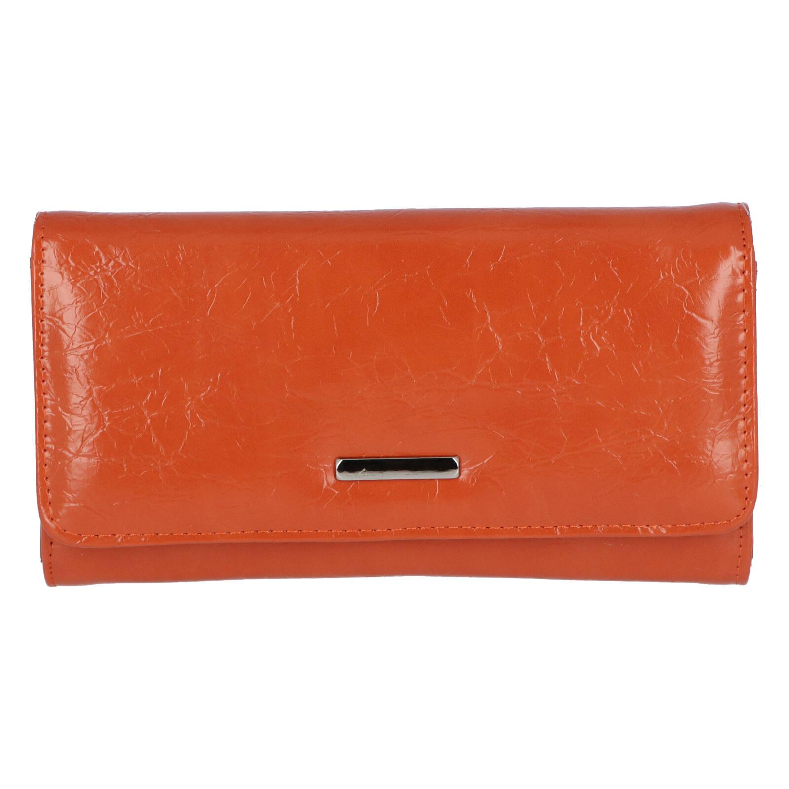 Dámské psaníčko do ruky oranžové - Michelle Moon F290