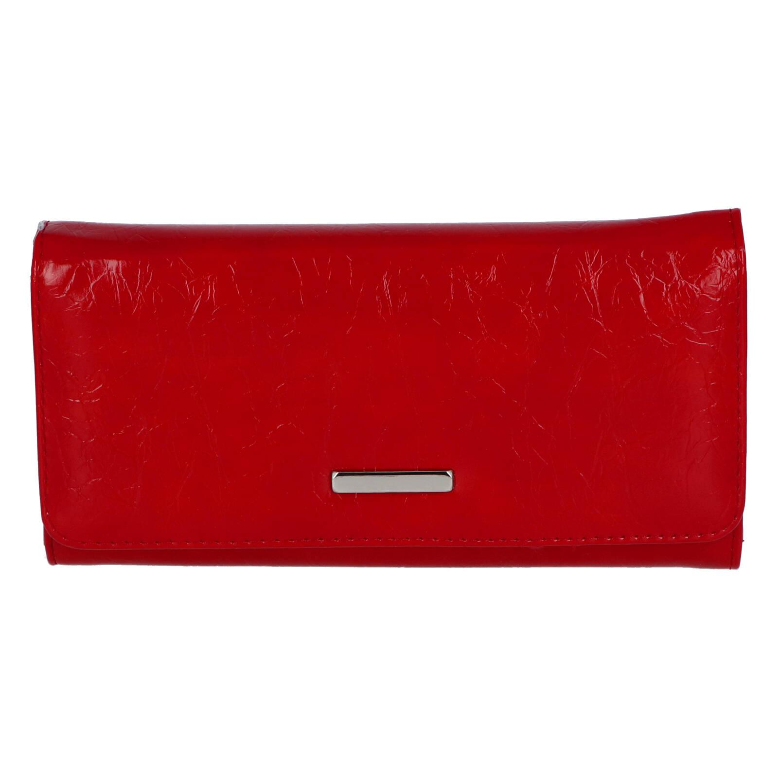 Dámské psaníčko do ruky červené - Michelle Moon F290