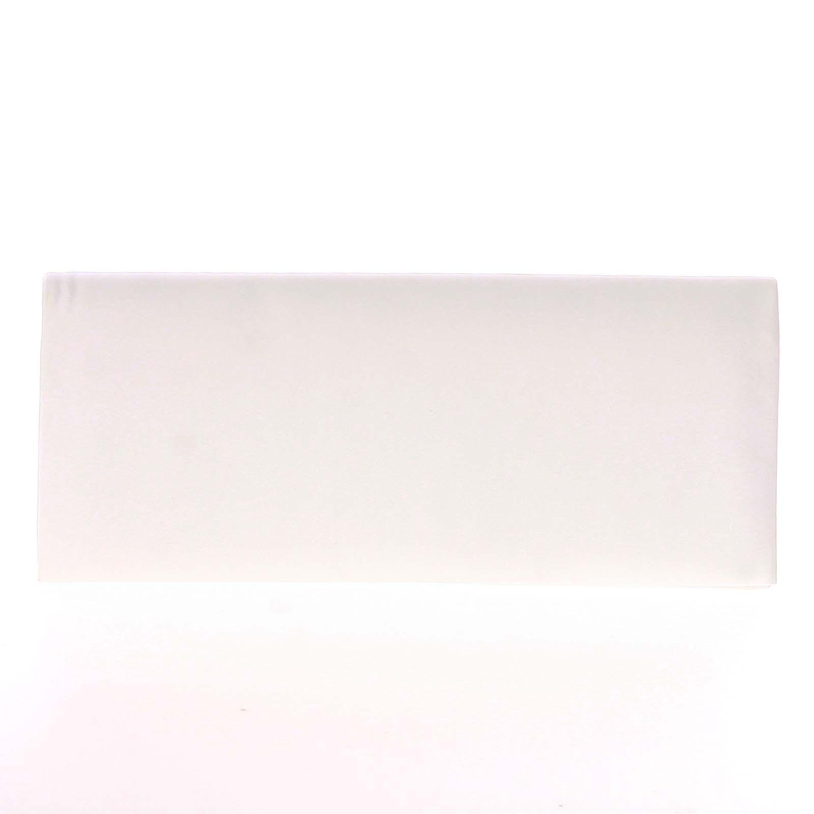 Decentní saténové psaníčko bílé - Delami P355