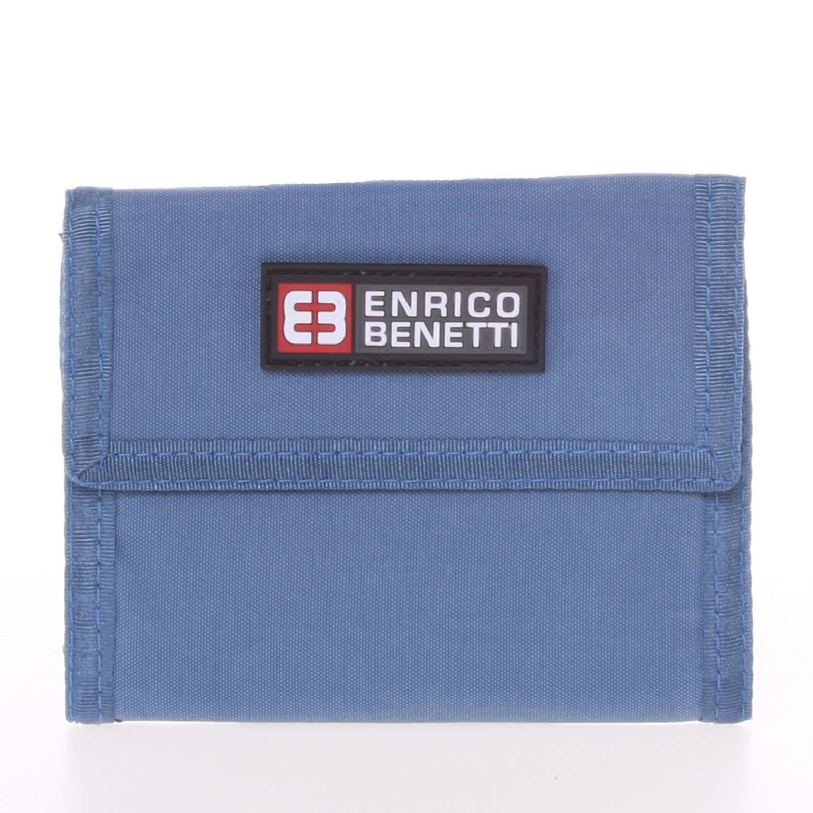 Jeansová látková peněženka Enrico Benetti 14607