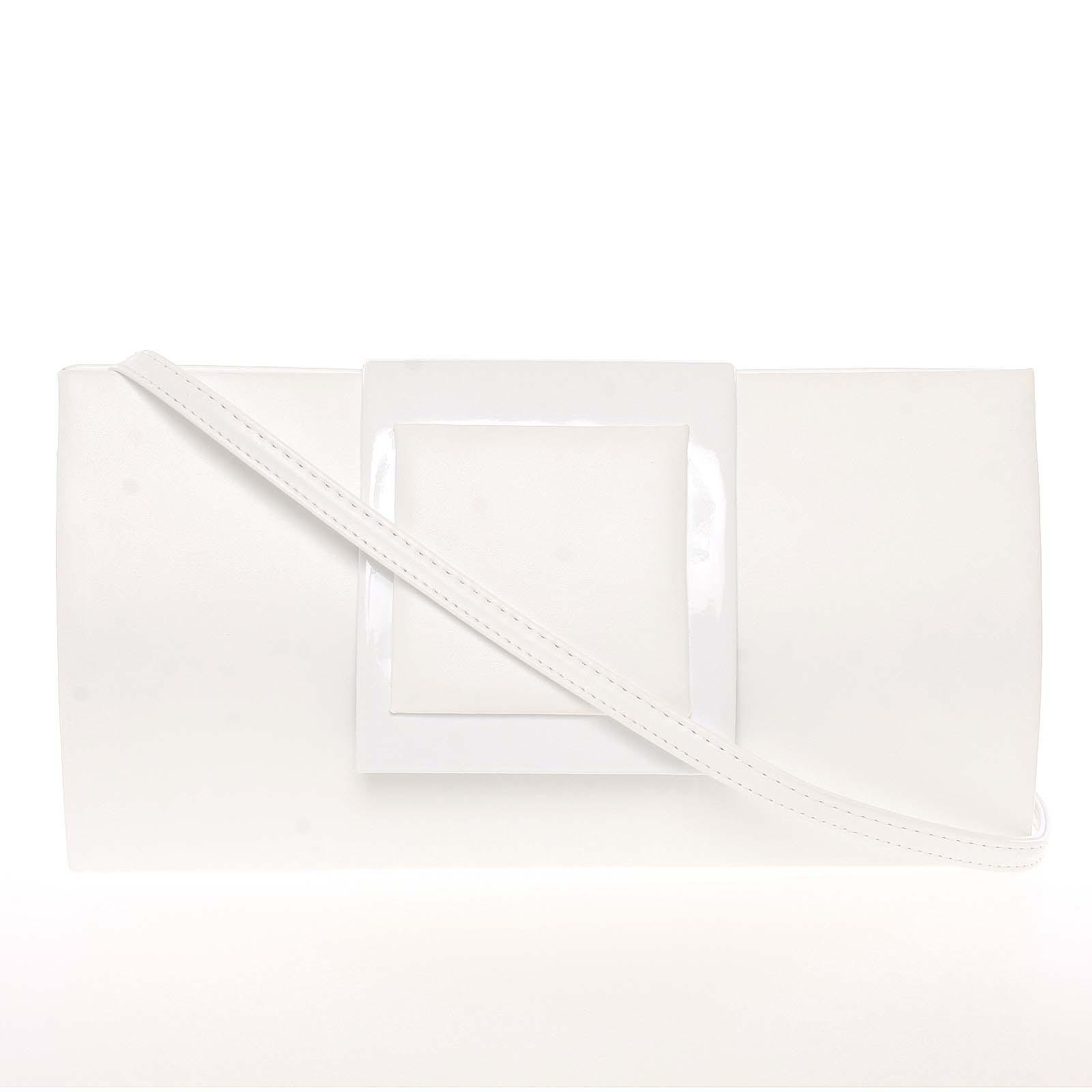 Dámské psaníčko bílé - Royal Style Erna