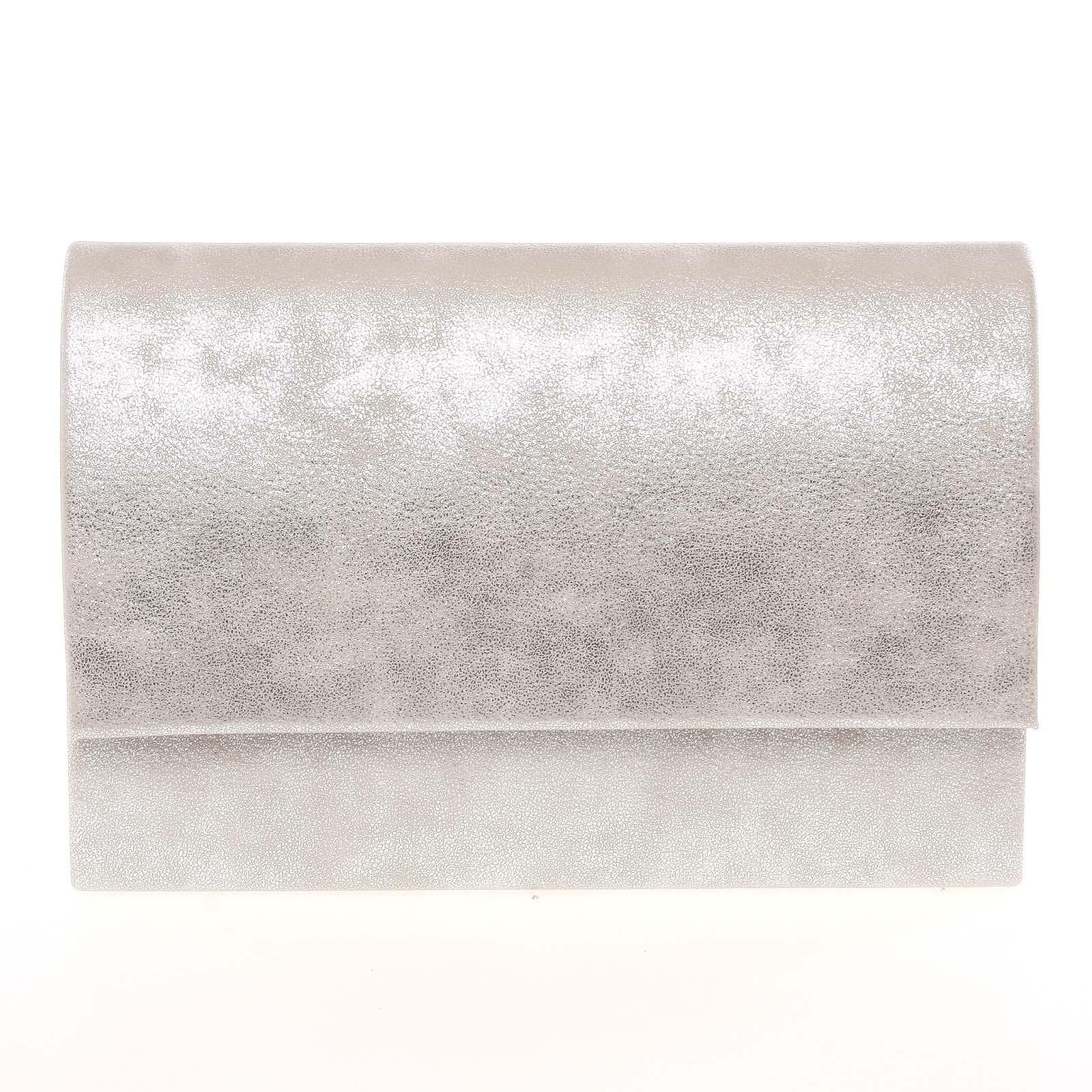 Stylové dámské psaníčko stříbrné - Delami Boston