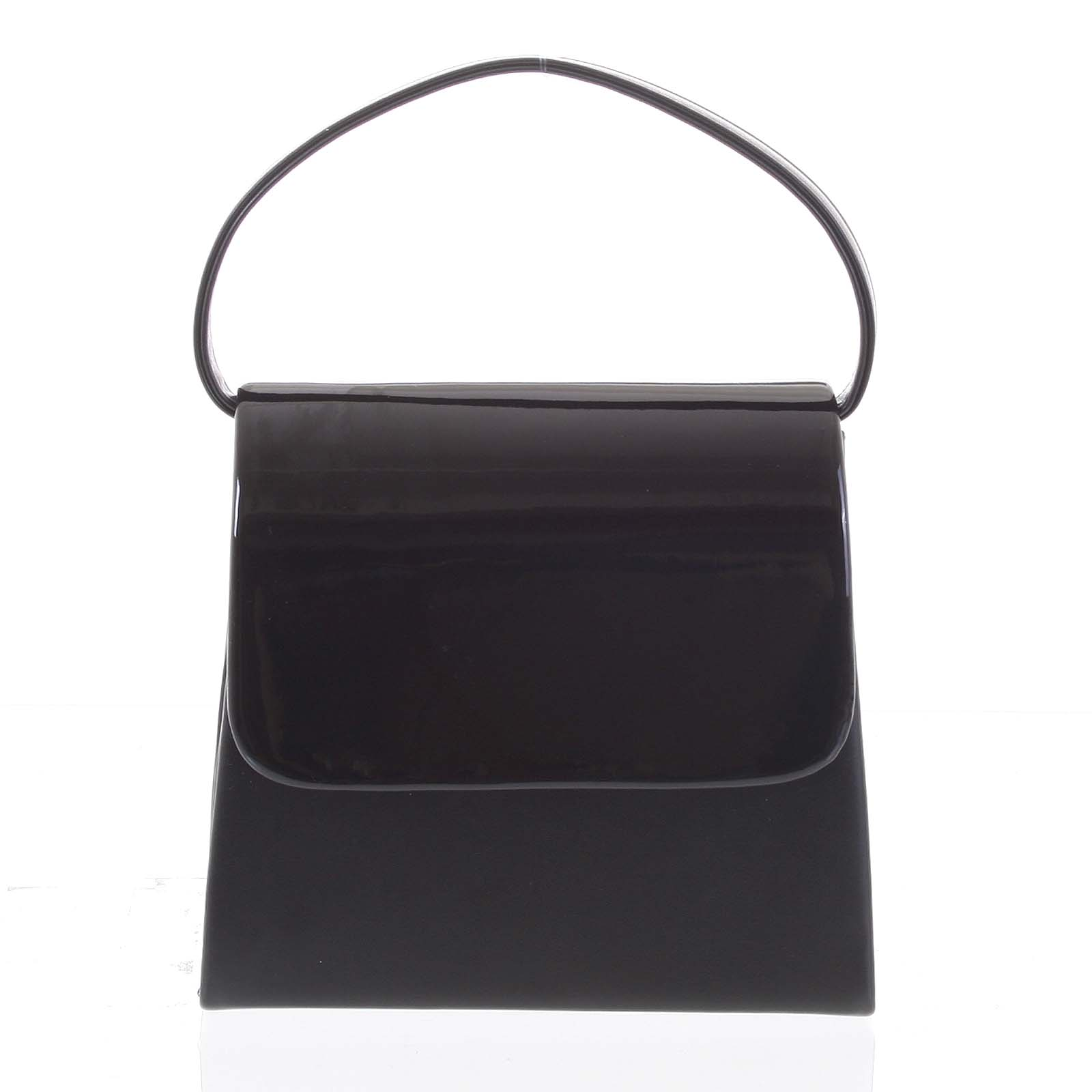 Luxusní dámské psaníčko/kabelka černé - Delami Viseria