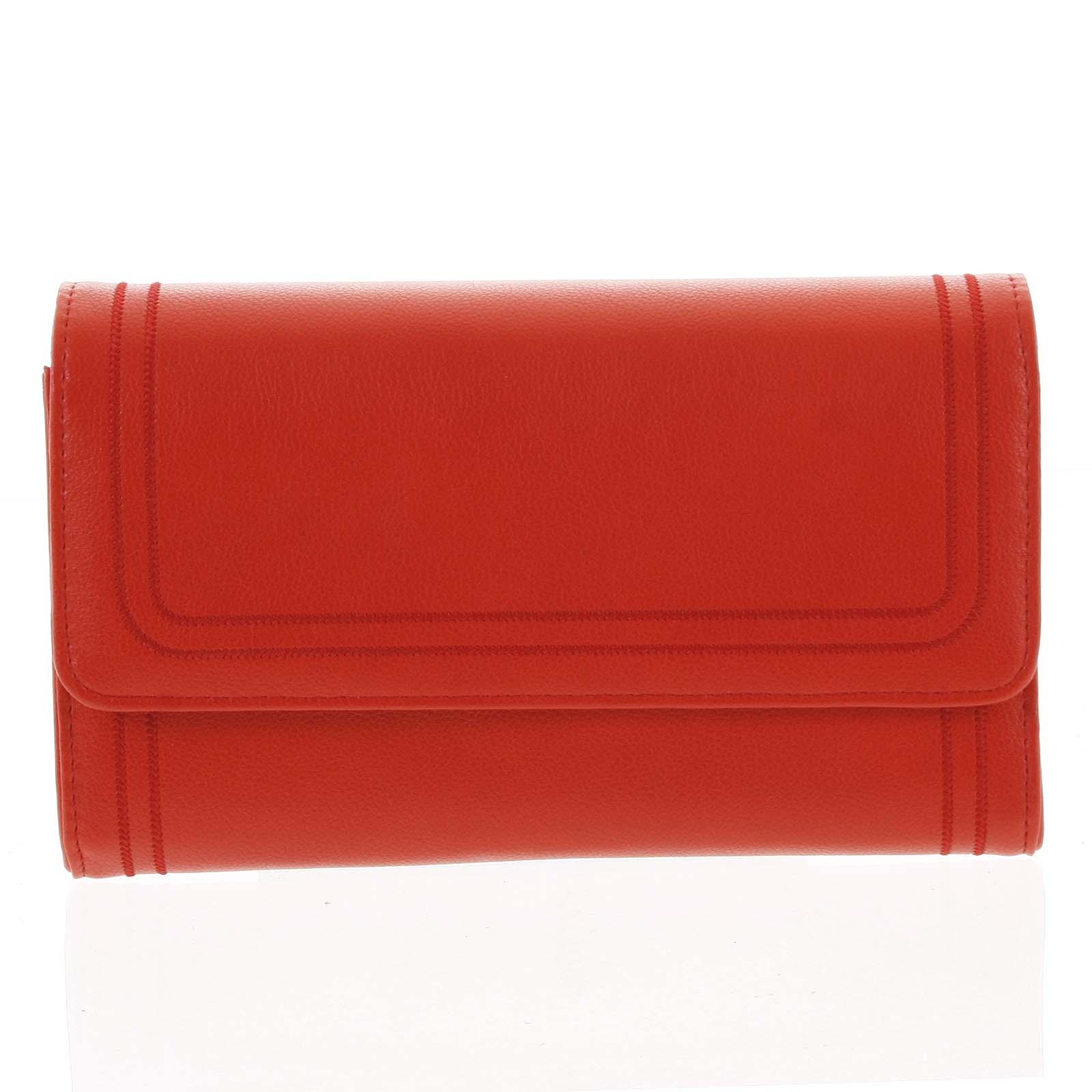 Dámská kabelka přes rameno červená - Michelle Moon Downz