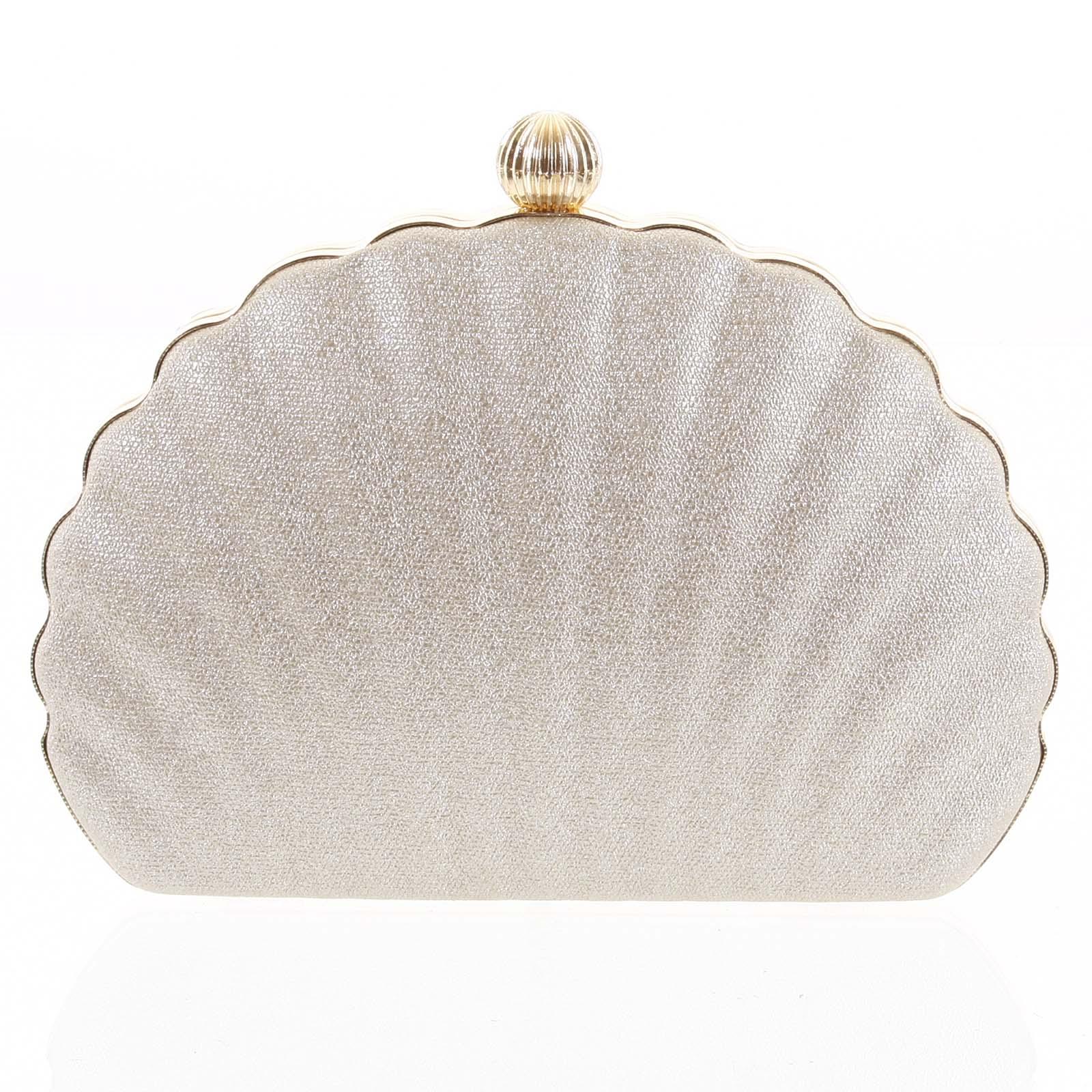 Dámské psaníčko zlaté - Michelle Moon Seashell