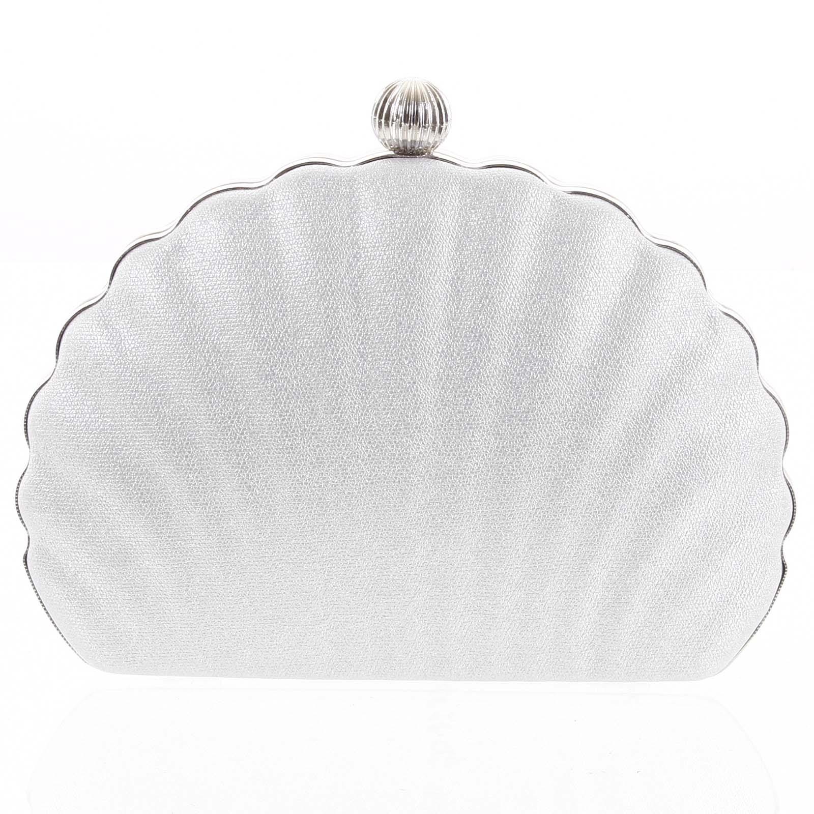Dámské psaníčko stříbrné - Michelle Moon Seashell