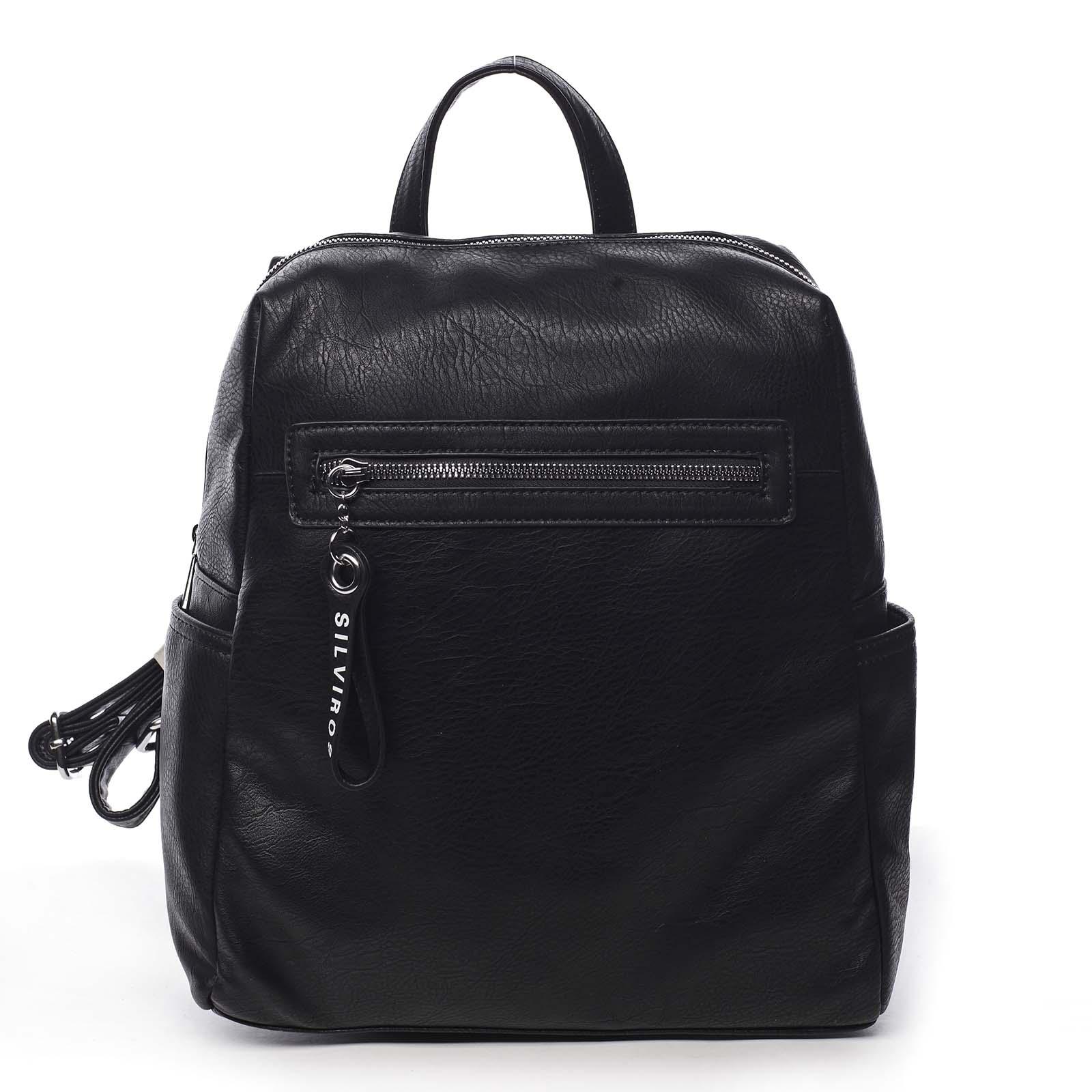 Dámský batoh černý - Silvia Rosa Lesgo