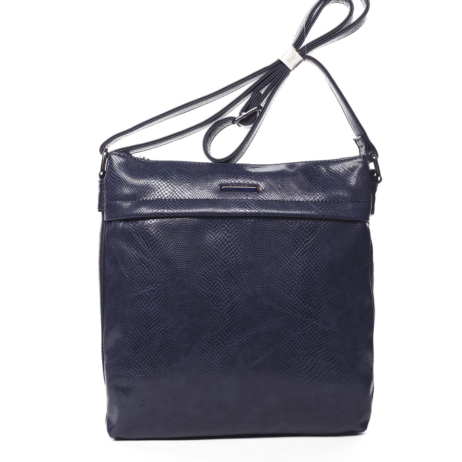 Dámská crossbody kabelky tmavě modrá - Silvia Rosa Dingeka Snake