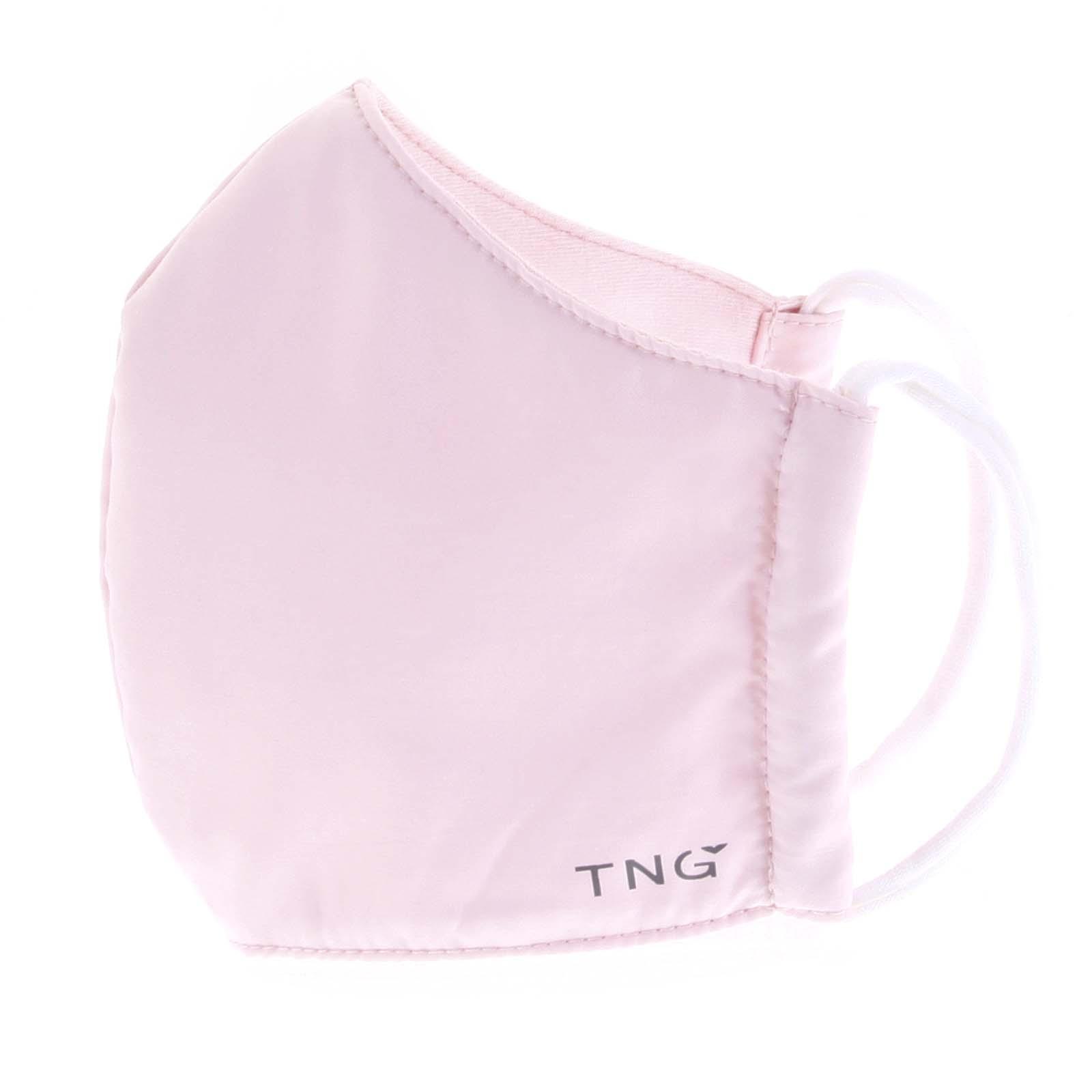 Stylová antibakteriální rouška třívrstvá světle růžová - TNG M