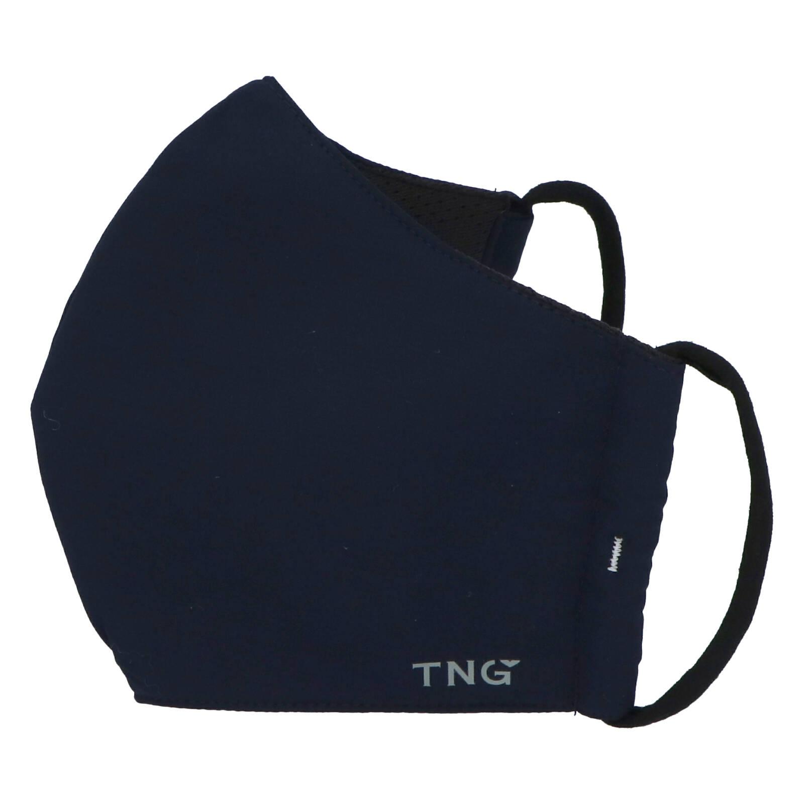 Stylová antibakteriální rouška třívrstvá tmavě modrá - TNG M