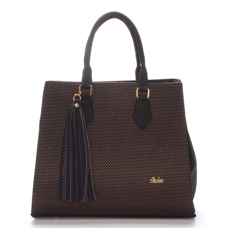 Luxusní dámská kabelka zlatá - SEKA Candela