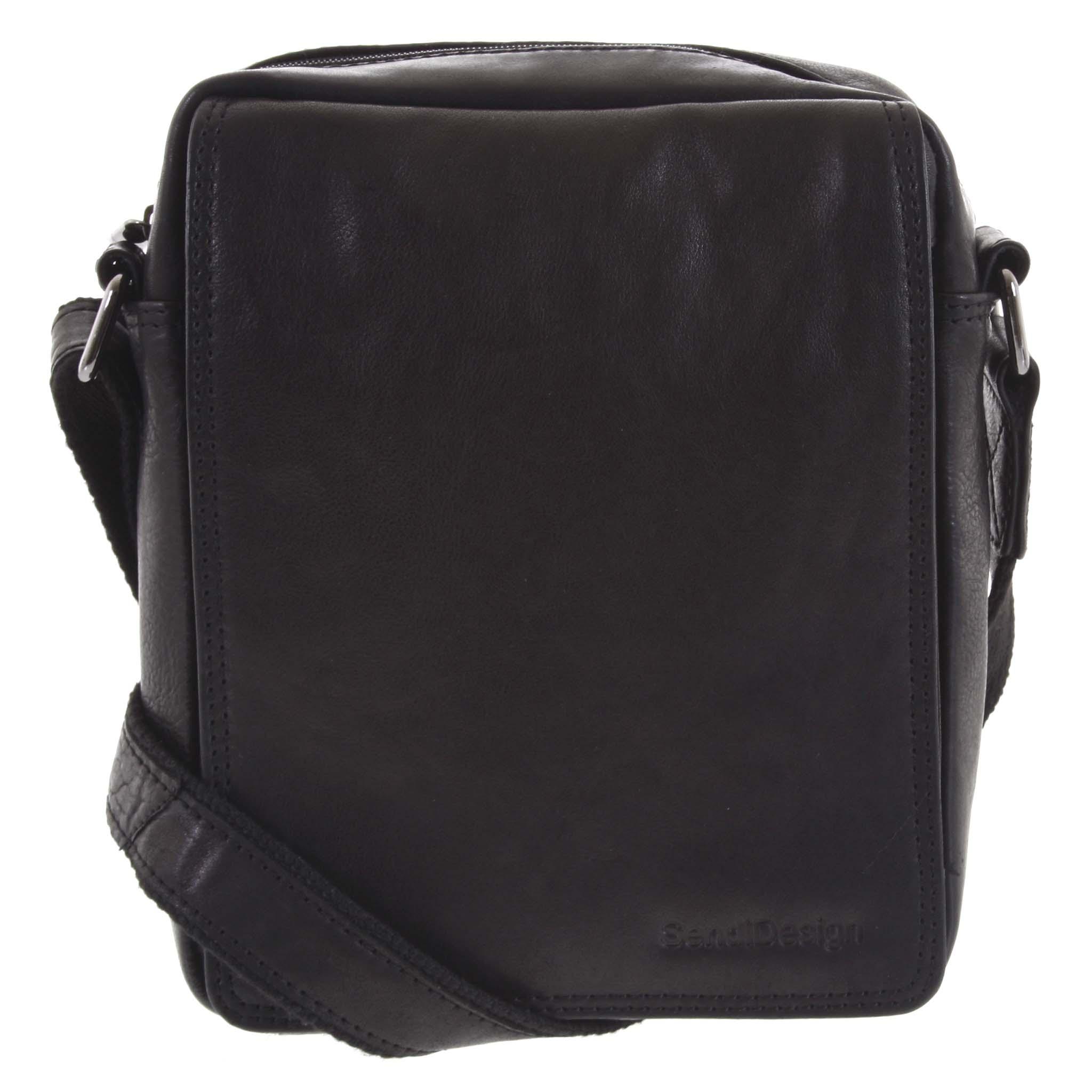 Pánská kožená taška černá - SendiDesign Lorem