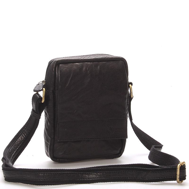 Stylová kožená taška černá - Sendi Design Perth