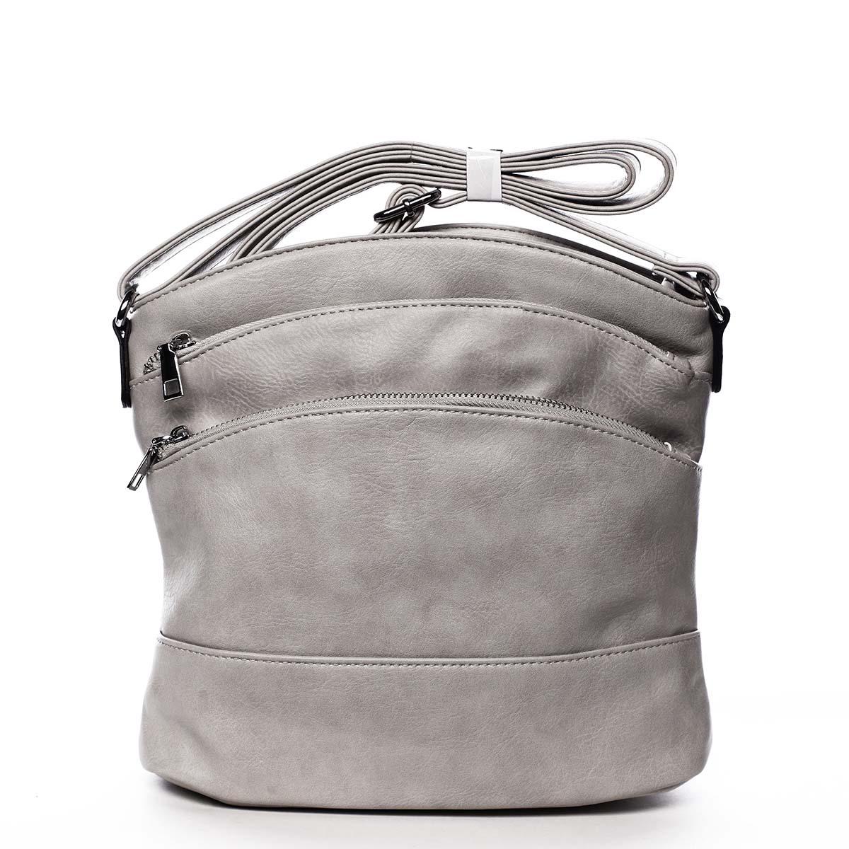 Dámská crossbody kabelka světle šedá - Romina Eufanity