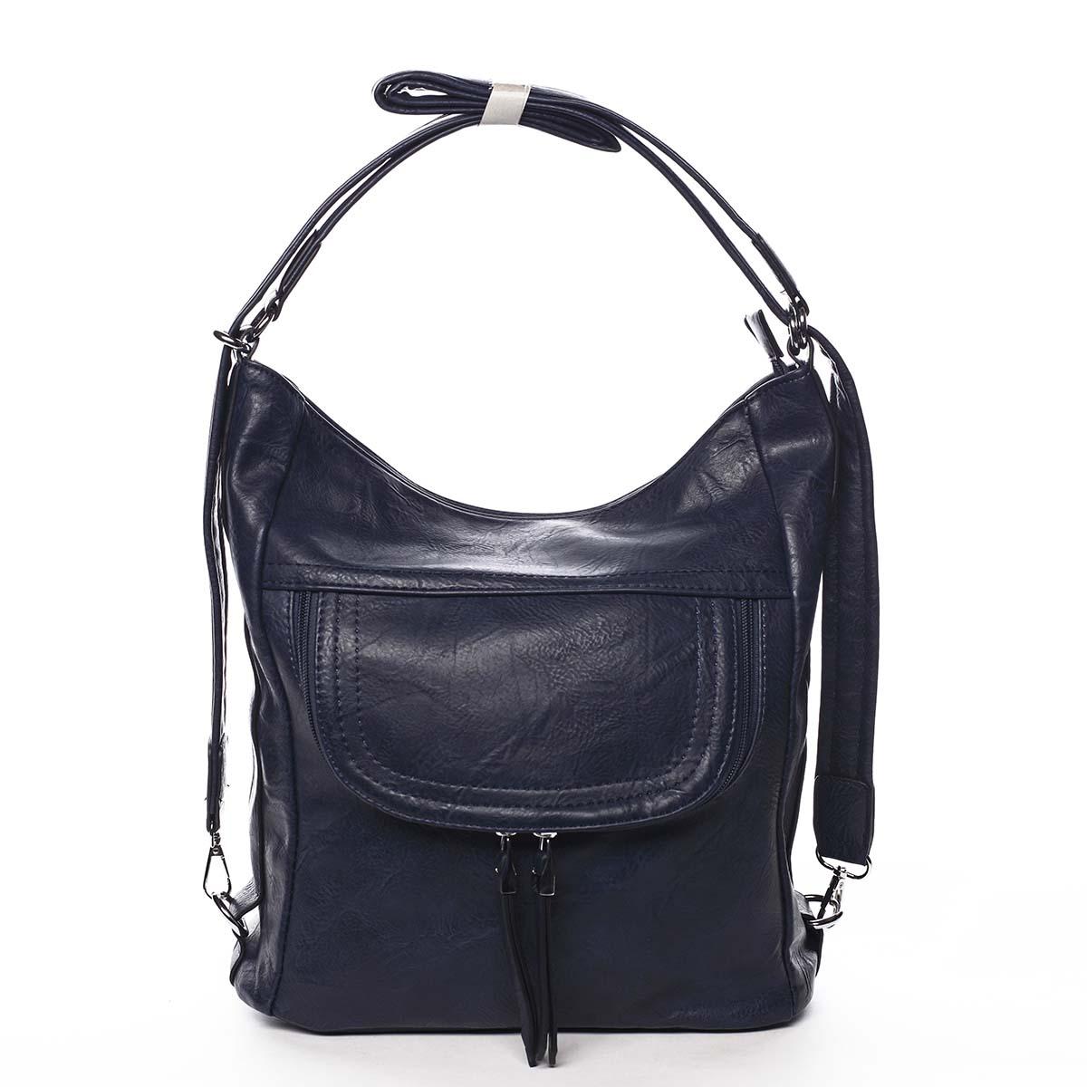 Dámská kabelka batoh tmavě modrá - Romina Godzilla