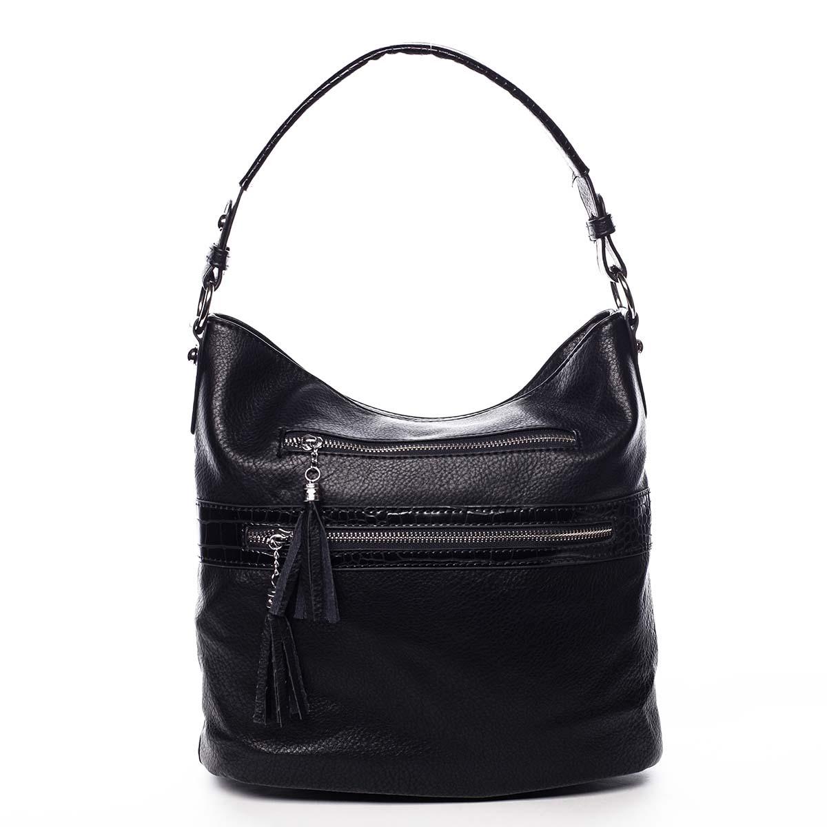 Dámská kabelka přes rameno černá - Romina Becca