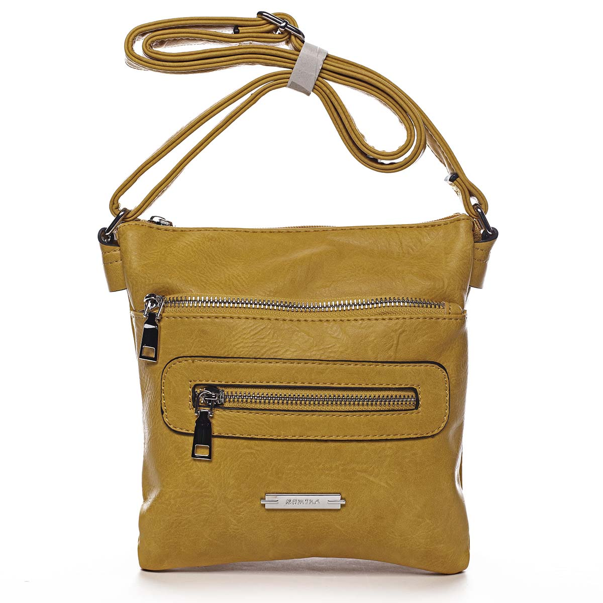 Dámská crossbody kabelka žlutá - Romina Chasing