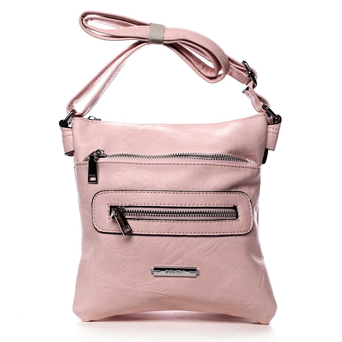 Dámská crossbody kabelka růžová - Romina Chasing