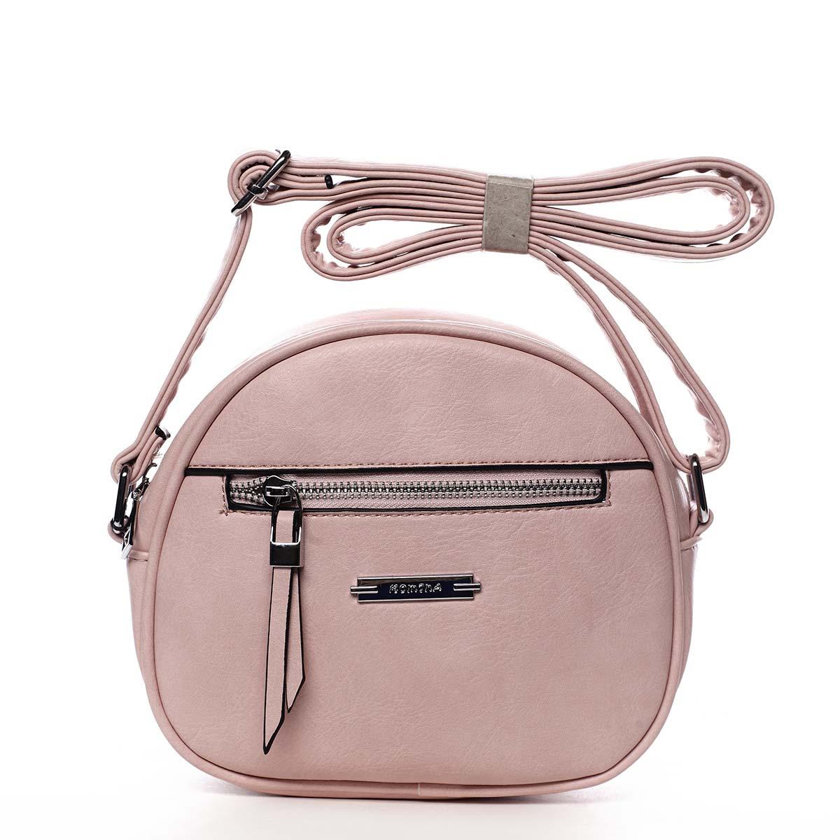 Dámská crossbody kabelka růžová - Romina Eilish