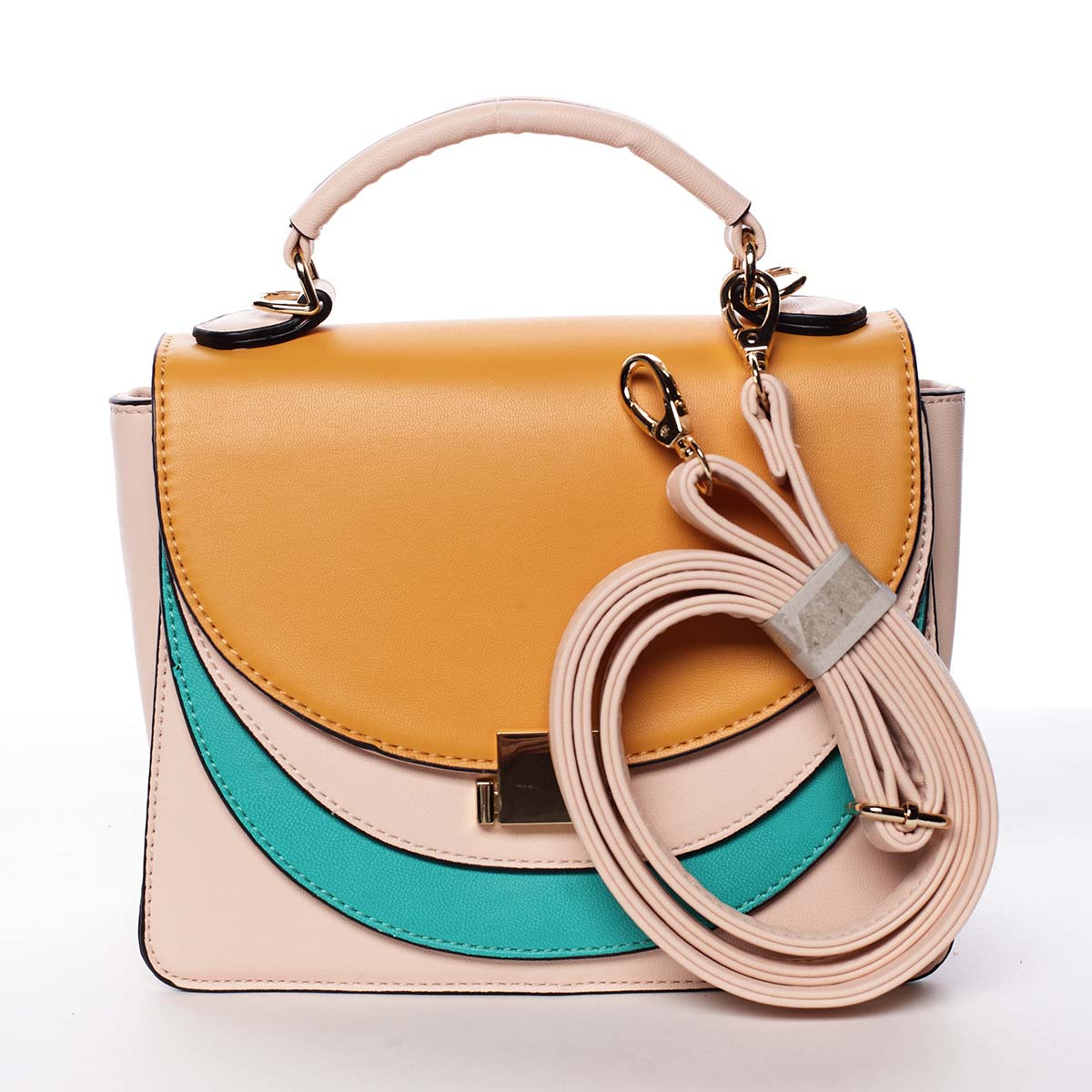 Originální malá dámská kabelka růžová - Dudlin Sandra