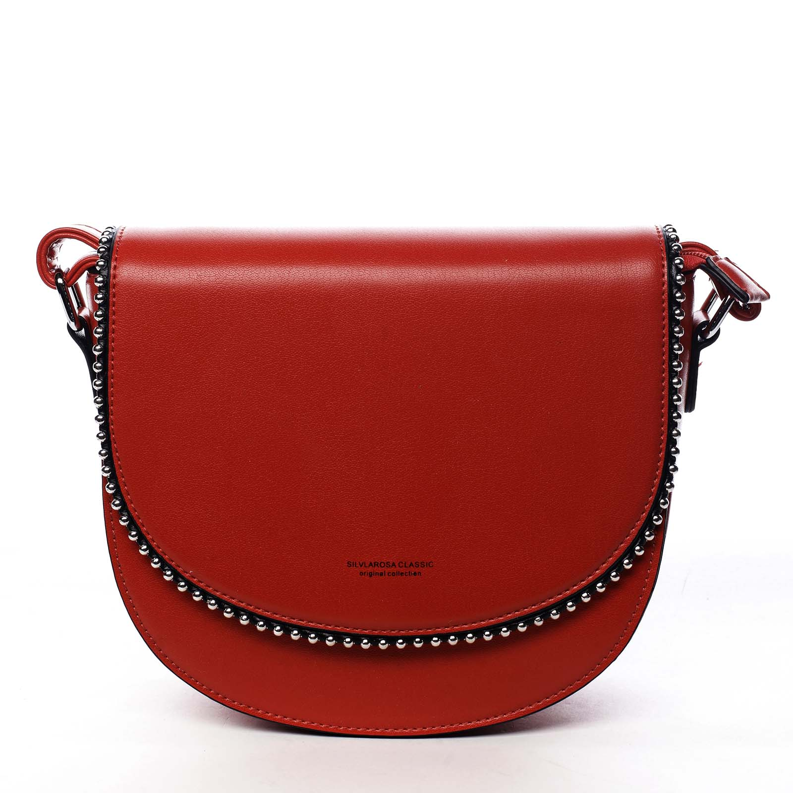Dámská crossbody kabelka červená - Silvia Rosa Evolve