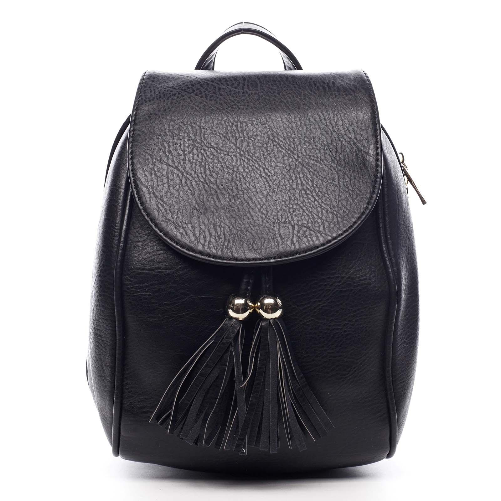 Dámský batůžek černý - Silvia Rosa Roseph