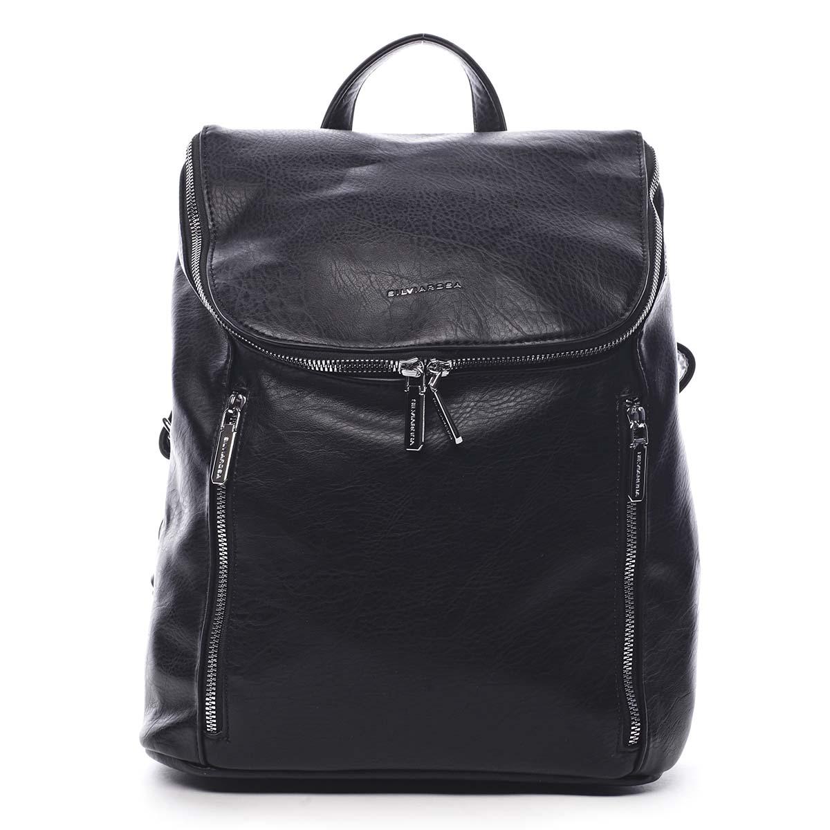 Dámský batoh černý - Silvia Rosa Bruno