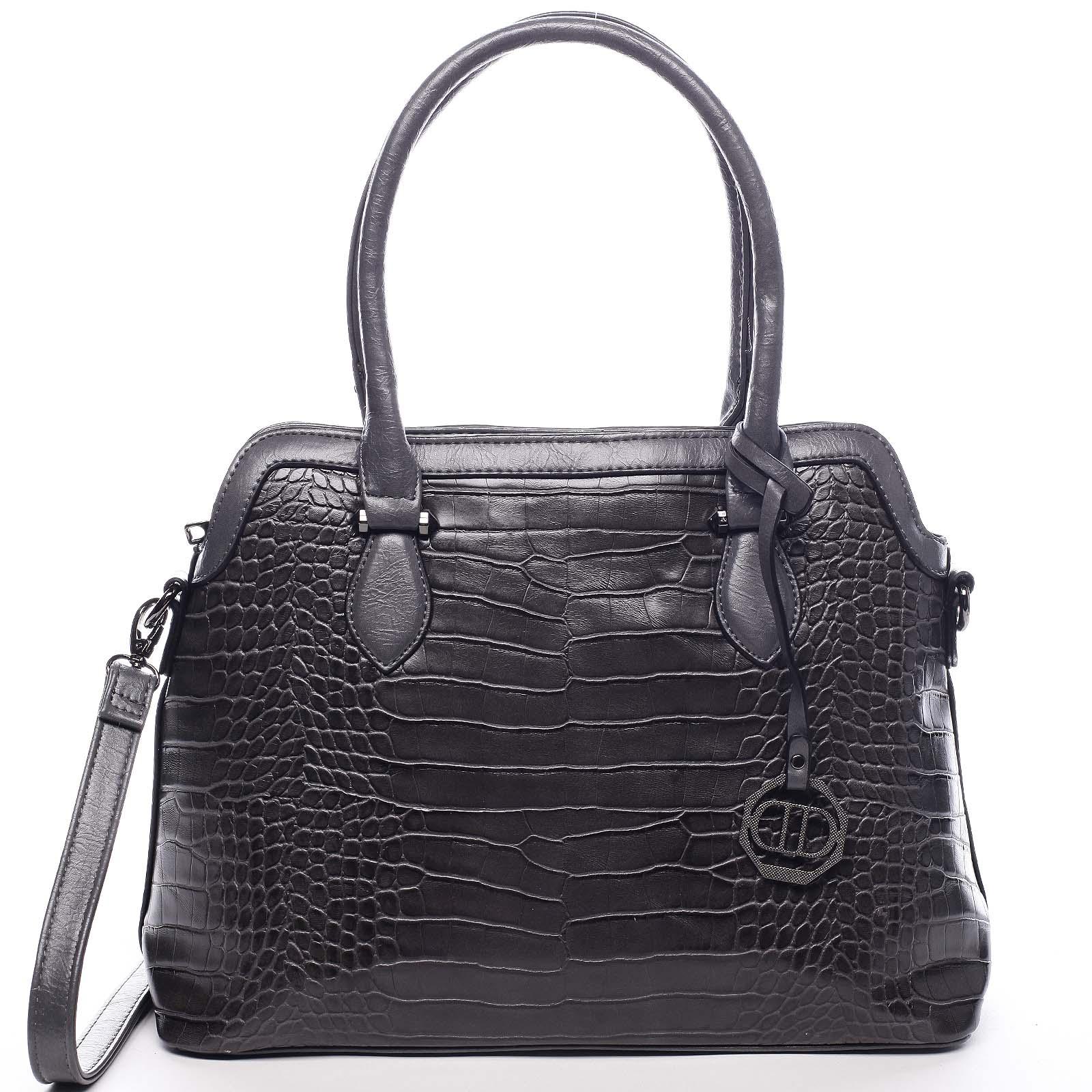 Dámská kabelka přes rameno šedá - Dudlin Camilla