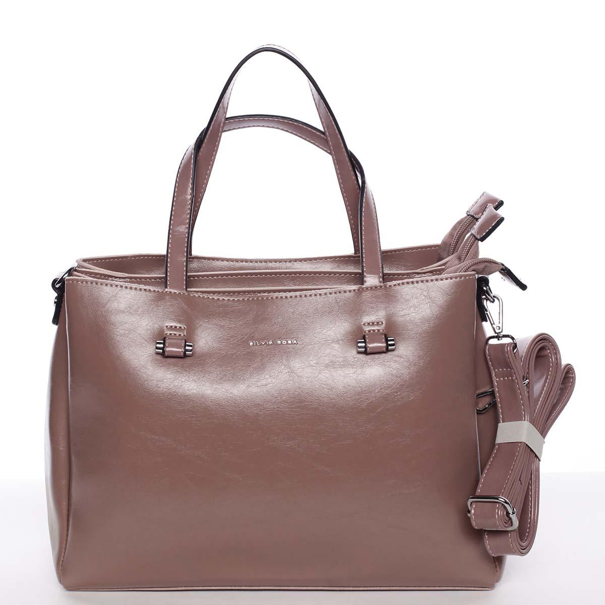 Starorůžová elegantní kabelka - Silvia Rosa Saba
