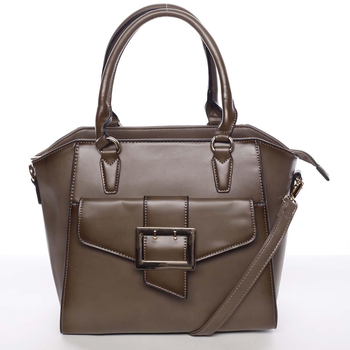 Luxusní dámská khaki kabelka přes rameno - MARIA C Thia