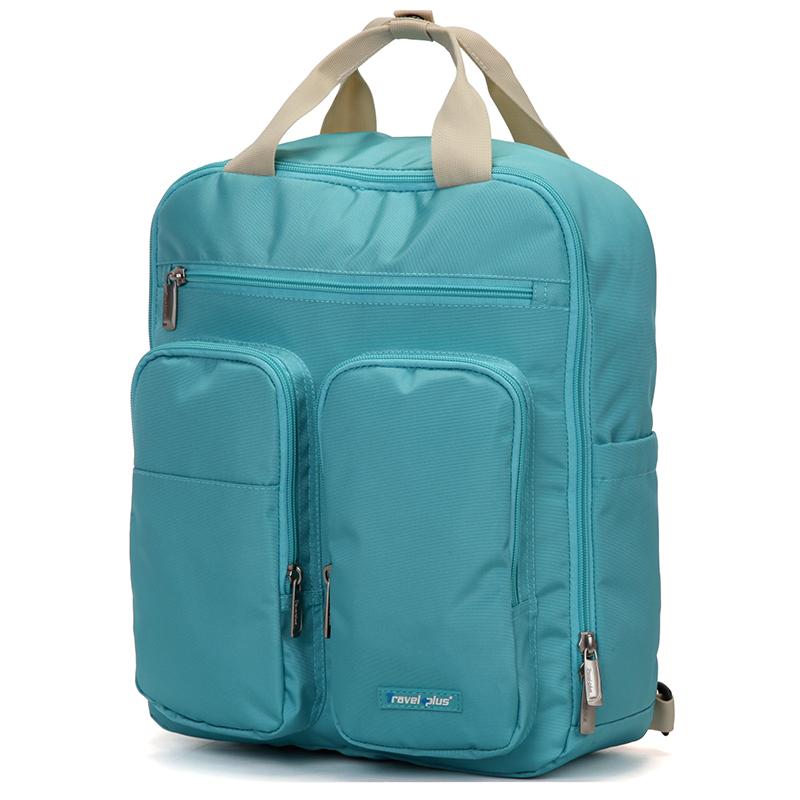 Plně funkční dámský batoh mentolový - Travel Plus 0632