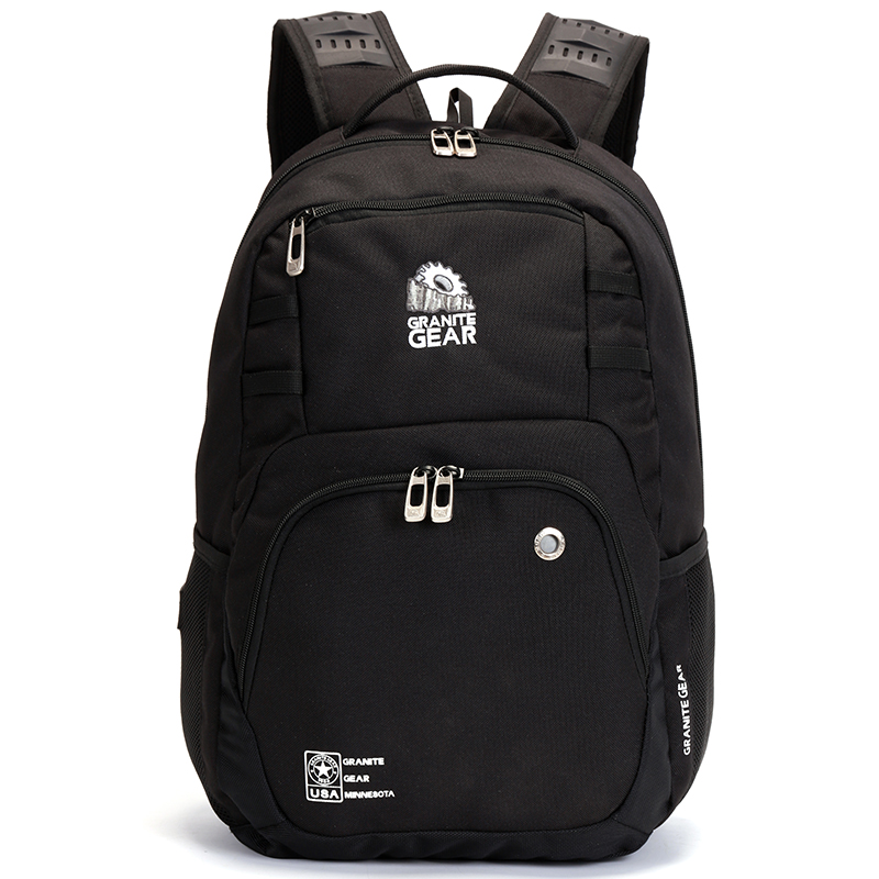 Univerzální cestovní a školní černý batoh - Granite Gear 7017