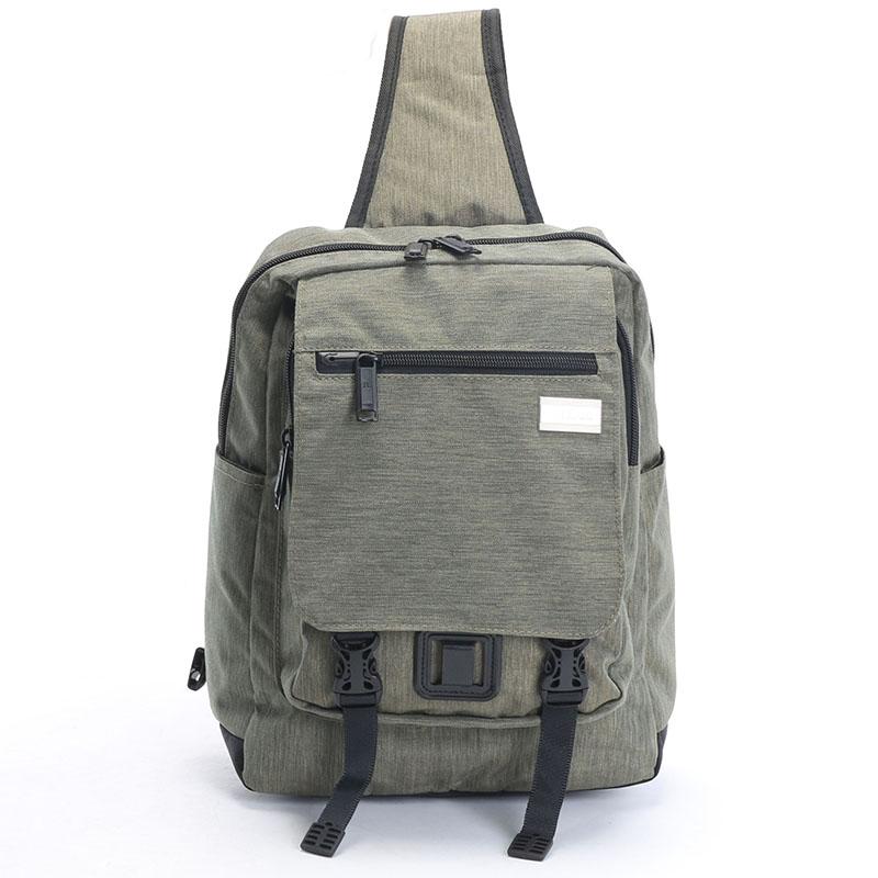 Středně velký šedý multifunkční batoh - Highland 8253