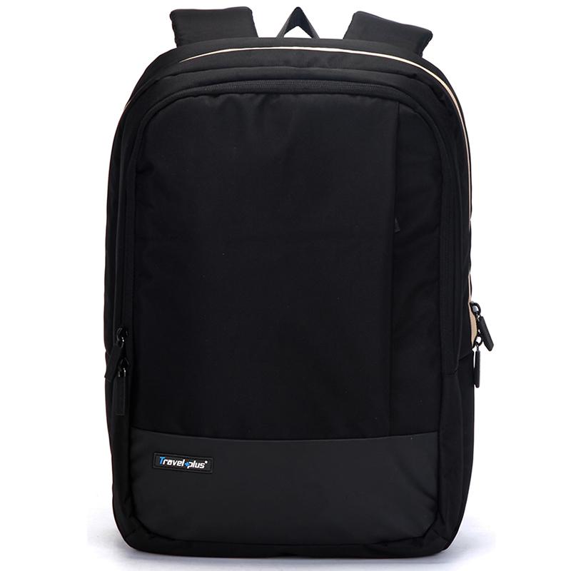Kvalitní školní a cestovní batoh černý - Travel plus 0100