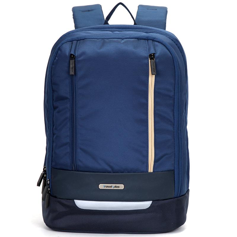 Originální školní a cestovní batoh modrý - Travel plus 0145