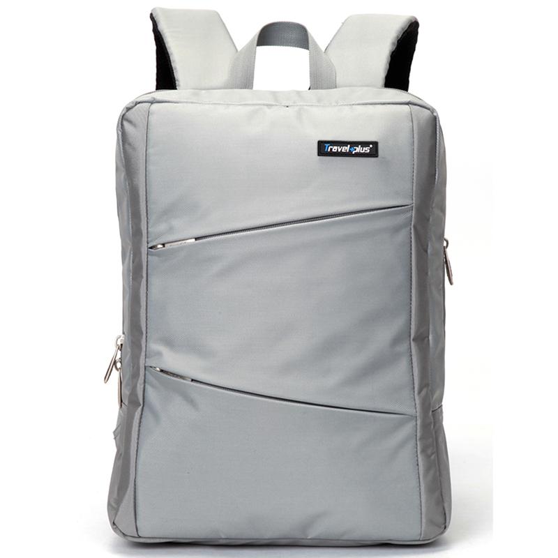 Originální cestovní a školní šedý batoh - Travel plus 0620