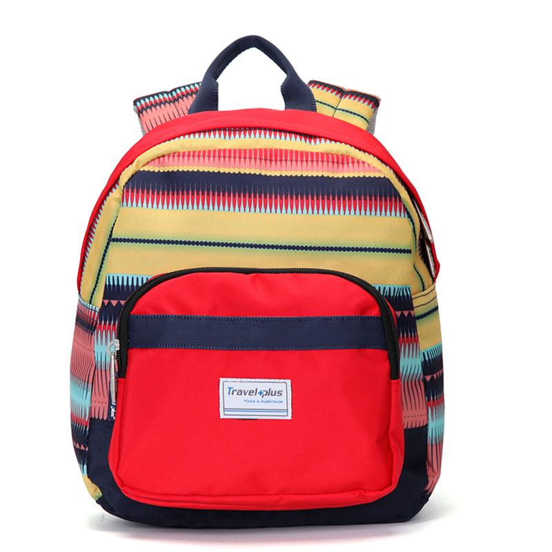 Střední dámský barevný batoh na výlety - Travel plus 0643